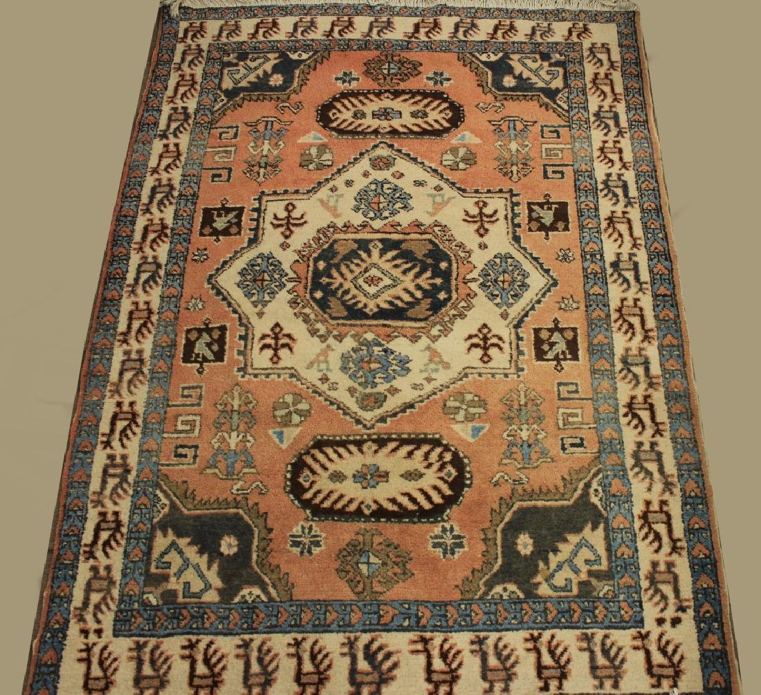 Tribal Shirvan Wool Rug - 2