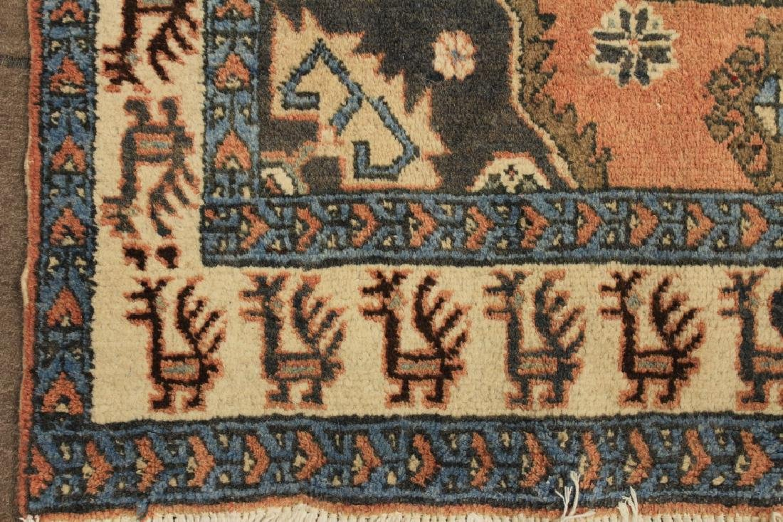 Tribal Shirvan Wool Rug - 3