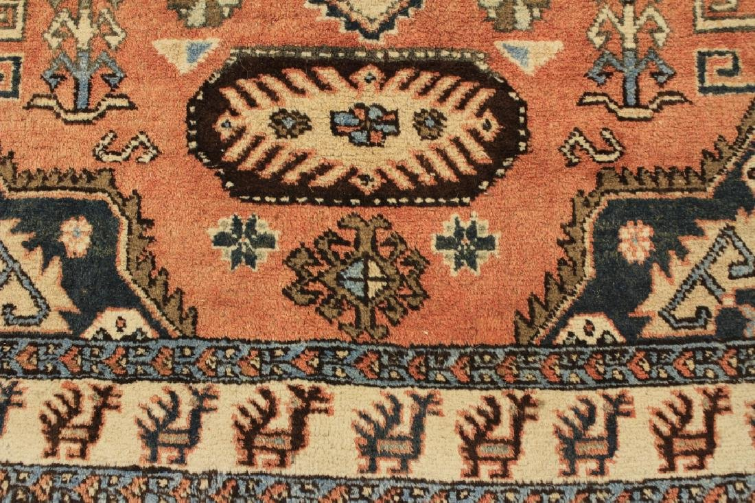 Tribal Shirvan Wool Rug - 4