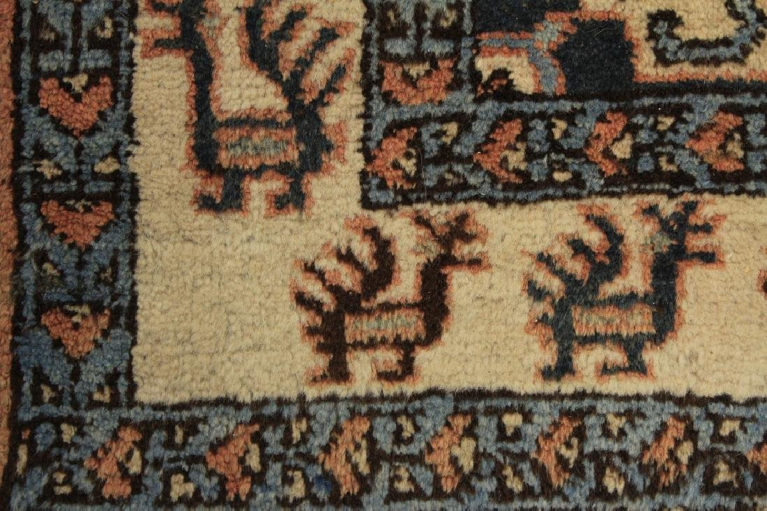 Tribal Shirvan Wool Rug - 5