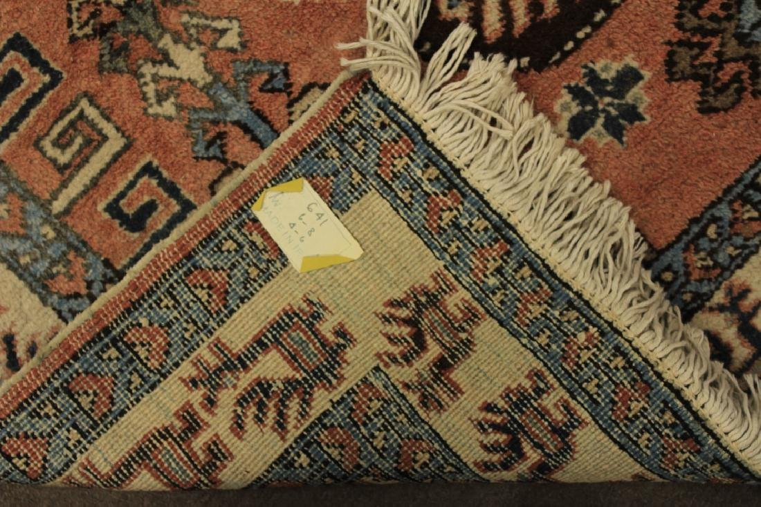 Tribal Shirvan Wool Rug - 6
