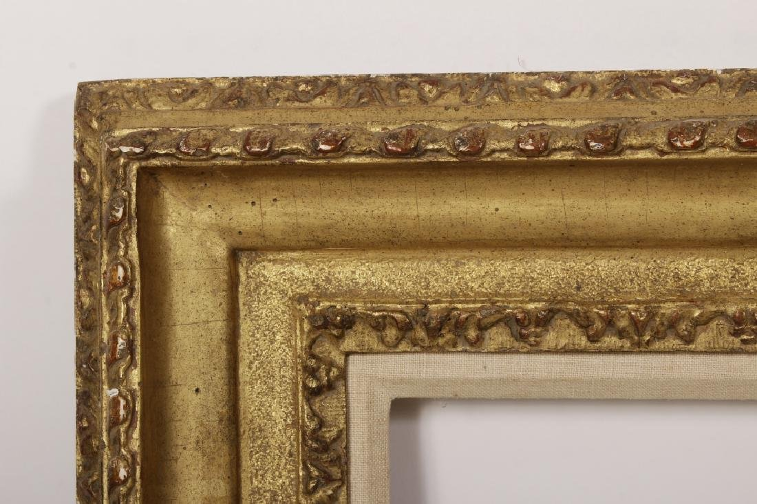 2 Large Classical Motif Gilt Wood Frames,20th C. - 3