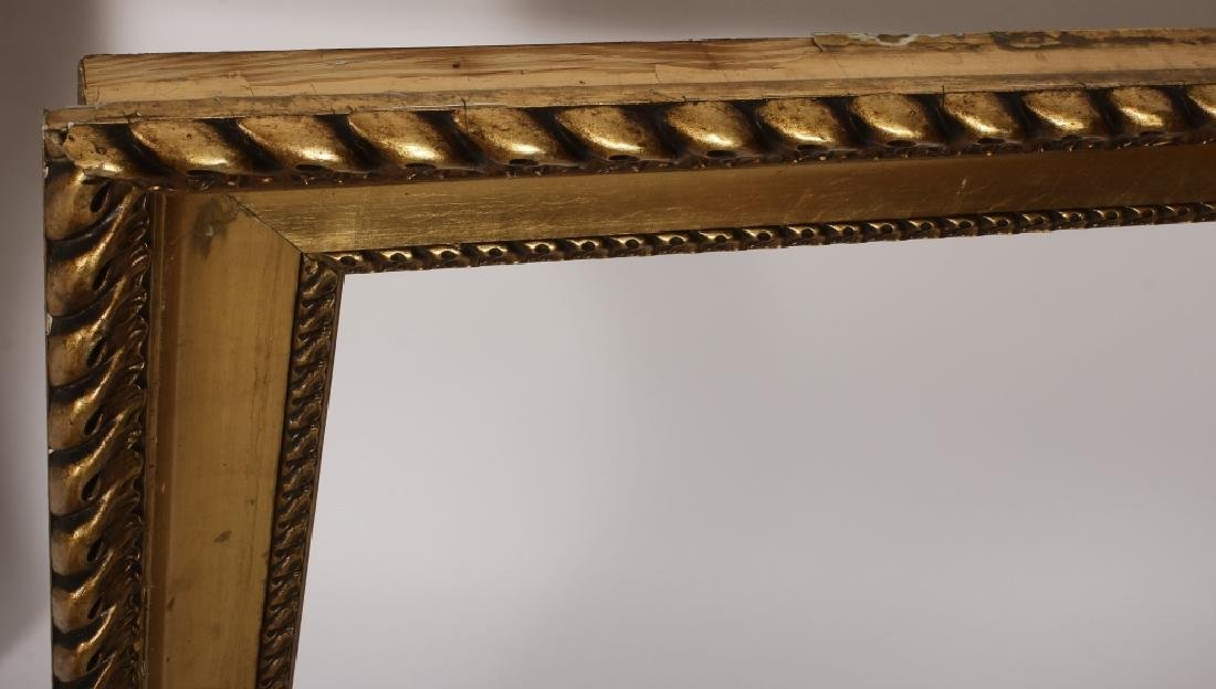 2 Large Classical Motif Gilt Wood Frames,20th C. - 6