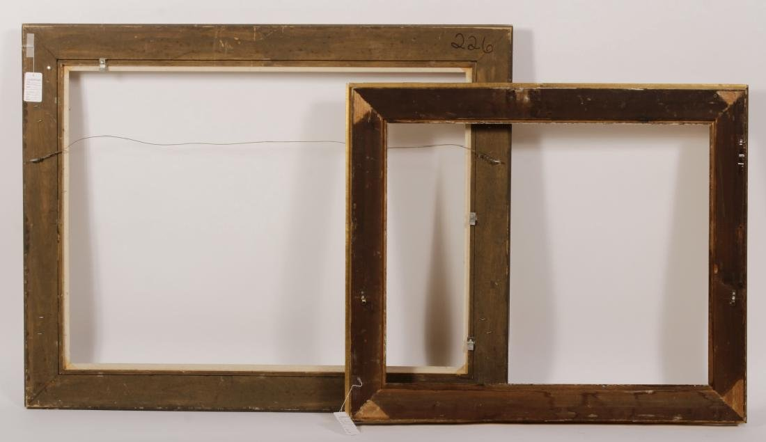 2 Large Classical Motif Gilt Wood Frames,20th C. - 7