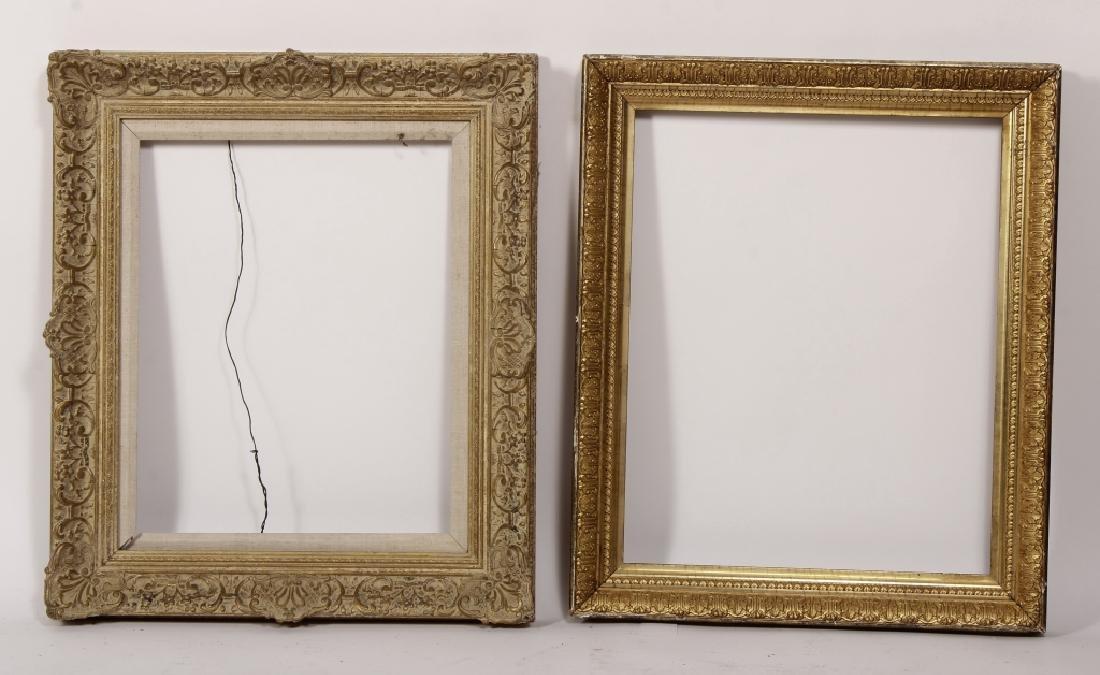 5 Carved Gilt Wood Frames, E.-Mid 20th C. - 2
