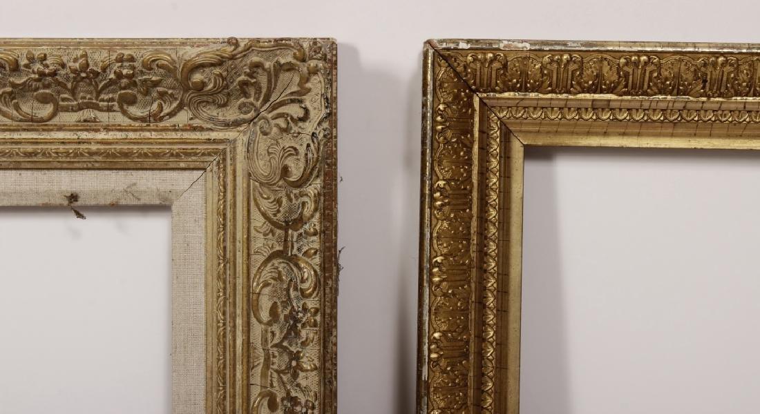 5 Carved Gilt Wood Frames, E.-Mid 20th C. - 3