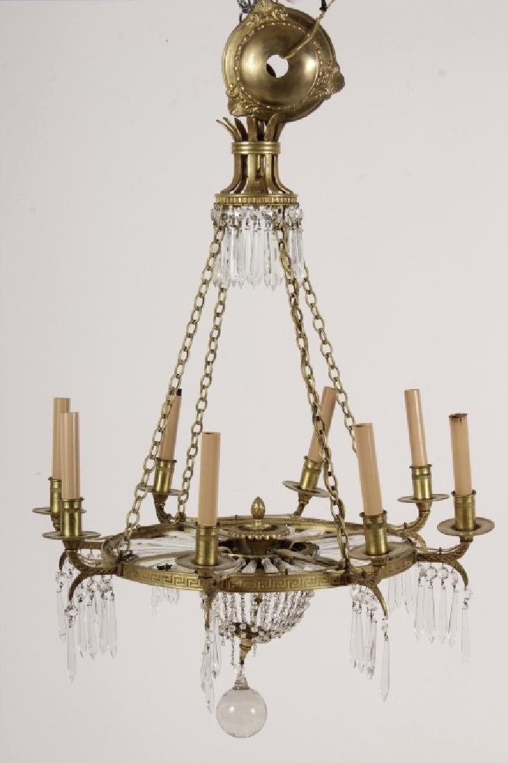 Neoclassical Style 8 Light Chandelier