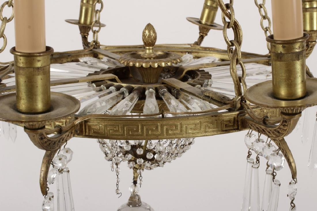 Neoclassical Style 8 Light Chandelier - 4