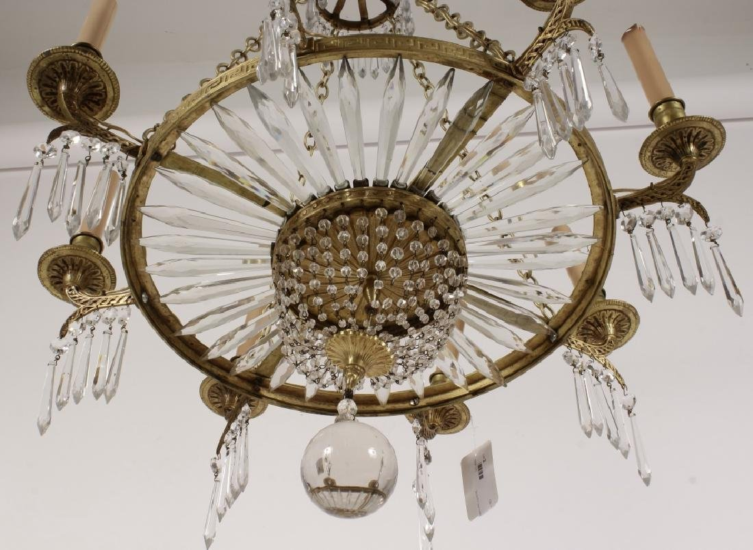 Neoclassical Style 8 Light Chandelier - 6