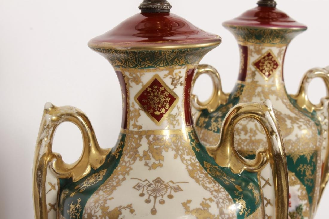 Pr. Royal Vienna-Style Lamps after A. Kauffman - 10