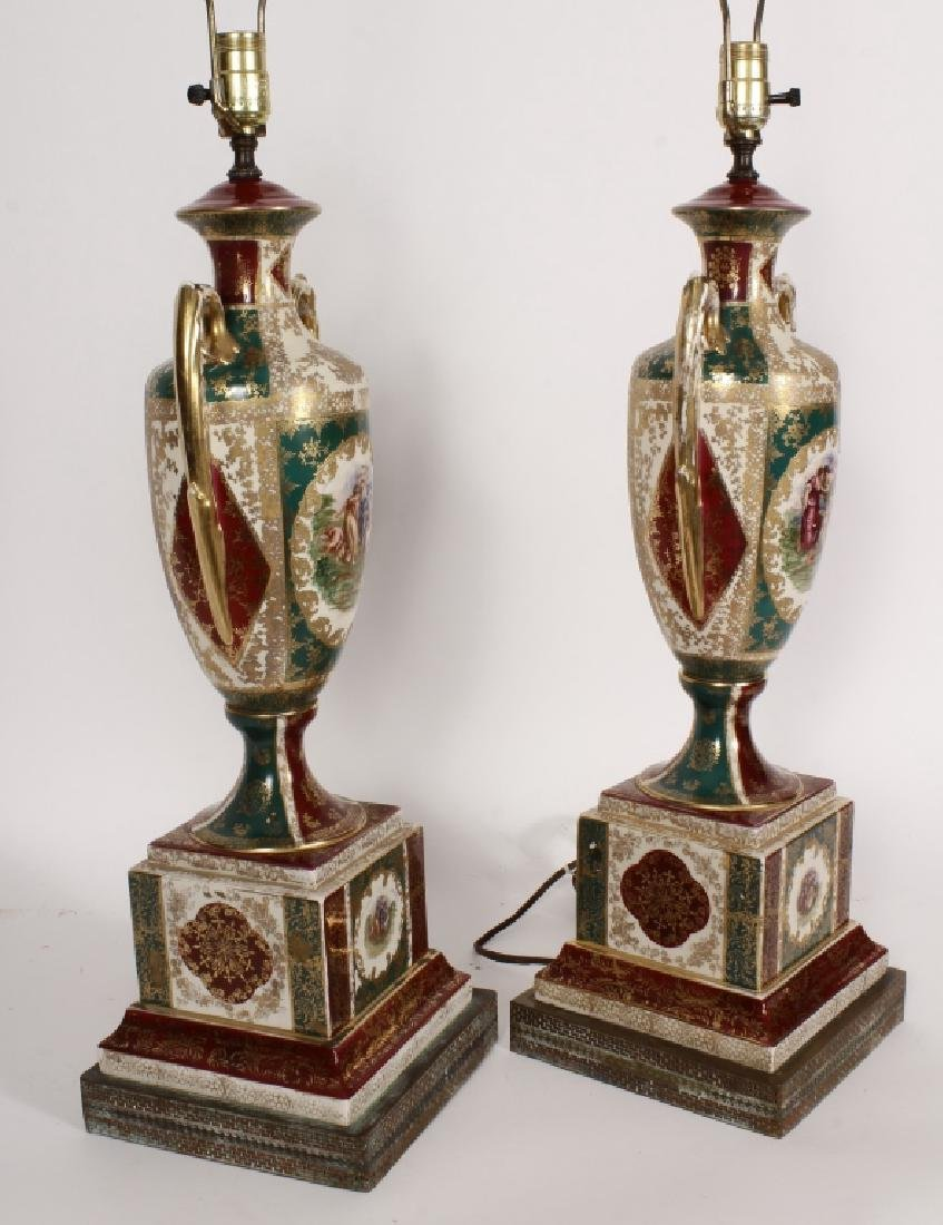 Pr. Royal Vienna-Style Lamps after A. Kauffman - 5