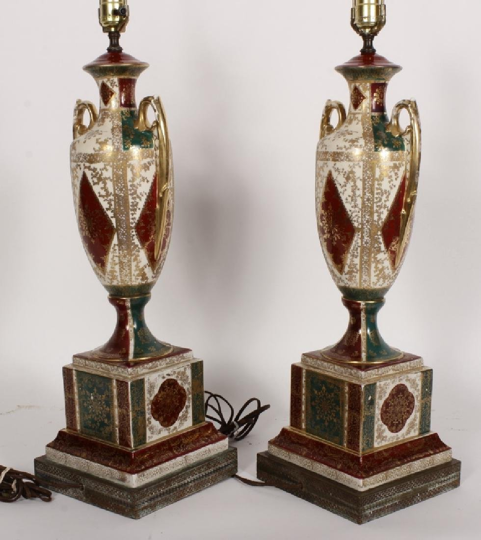 Pr. Royal Vienna-Style Lamps after A. Kauffman - 8