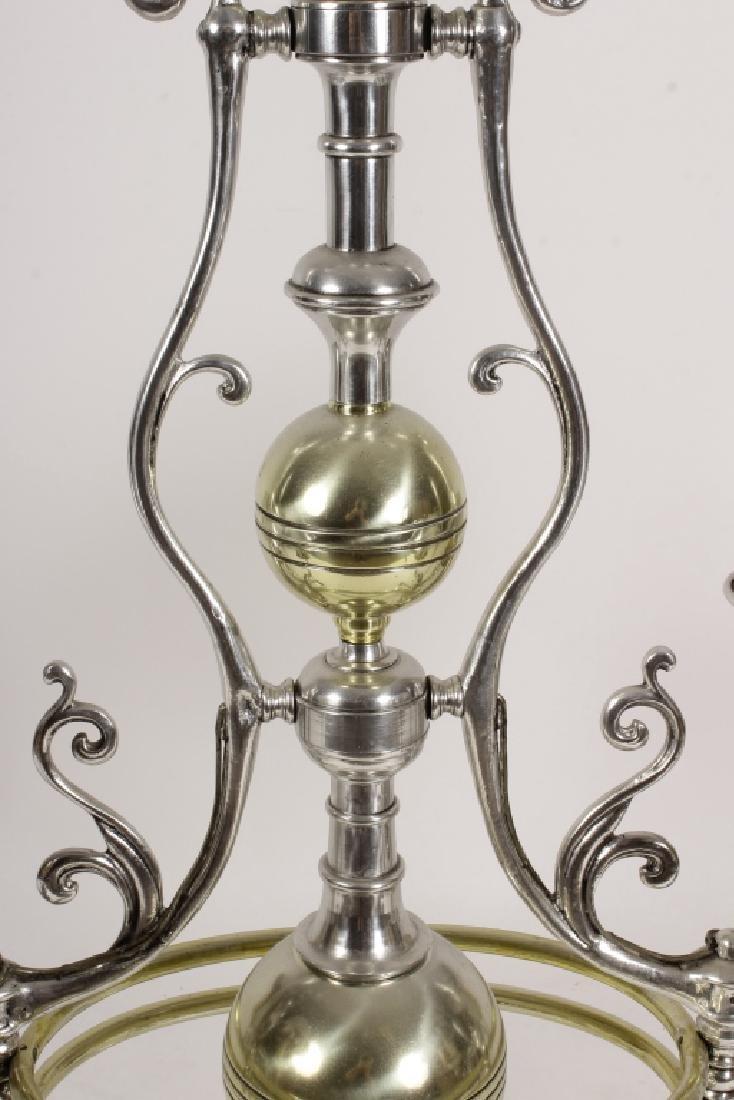 Georgian Bouillotte Style Pendant Lighting Fixture - 3
