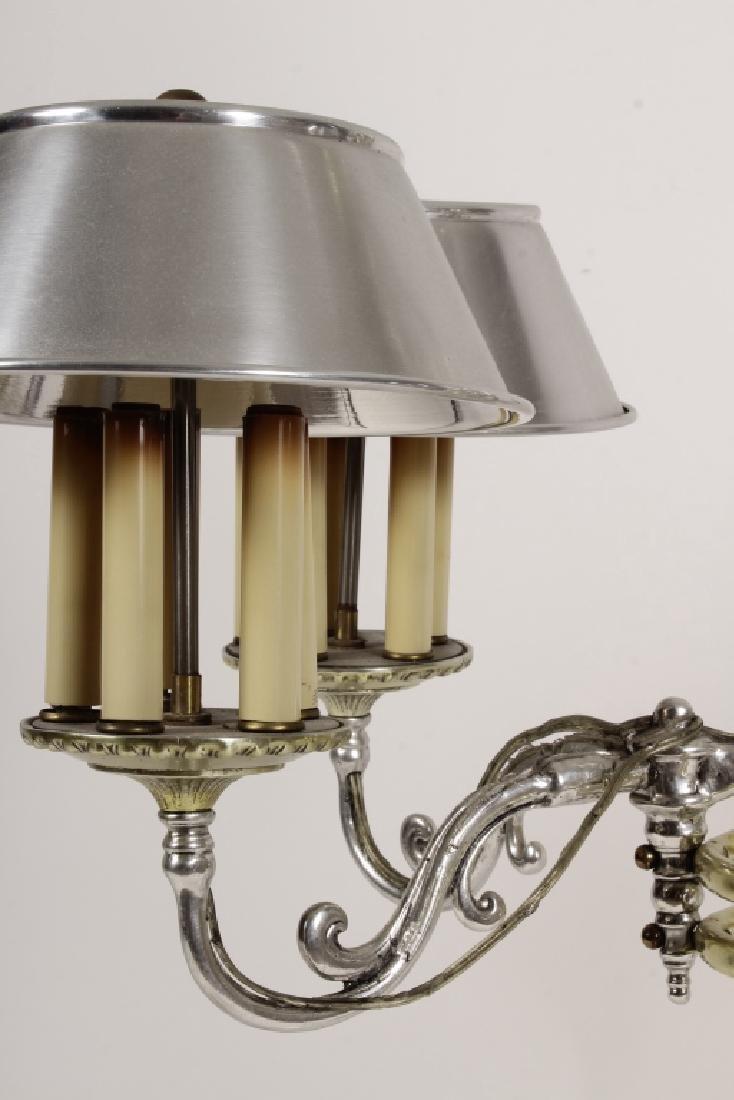 Georgian Bouillotte Style Pendant Lighting Fixture - 5