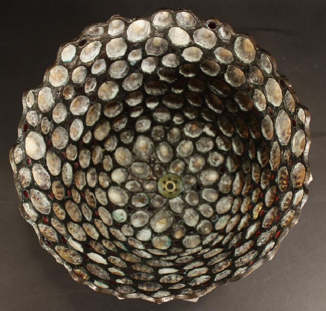 Jean-Charles Sprunger, Leaded Shell Lamp Shade - 10