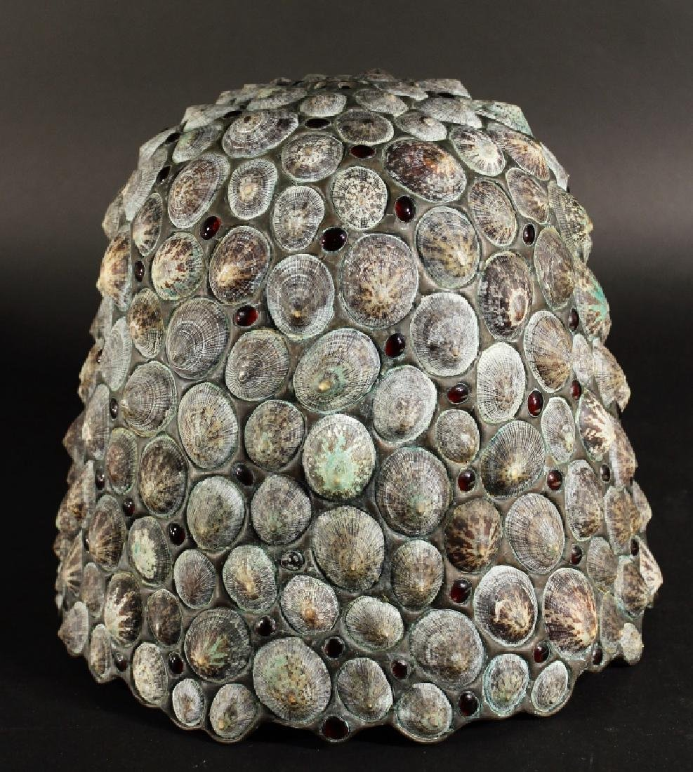 Jean-Charles Sprunger, Leaded Shell Lamp Shade - 6