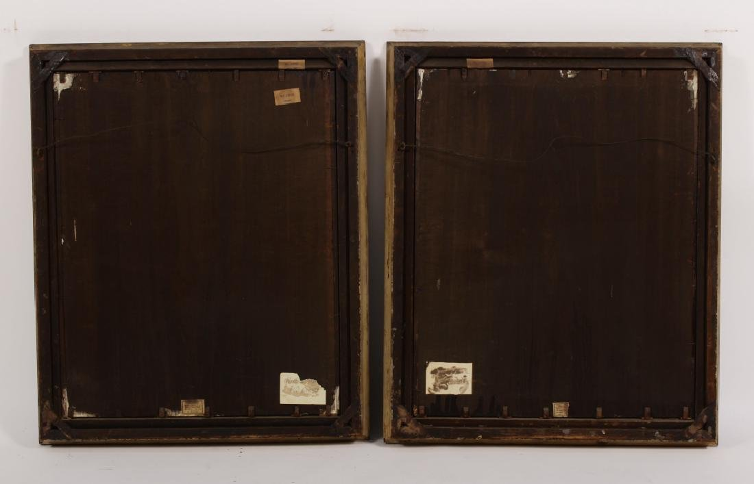 Pair of Portraits, e.19th C.,Wadsworth Family, O/B - 6