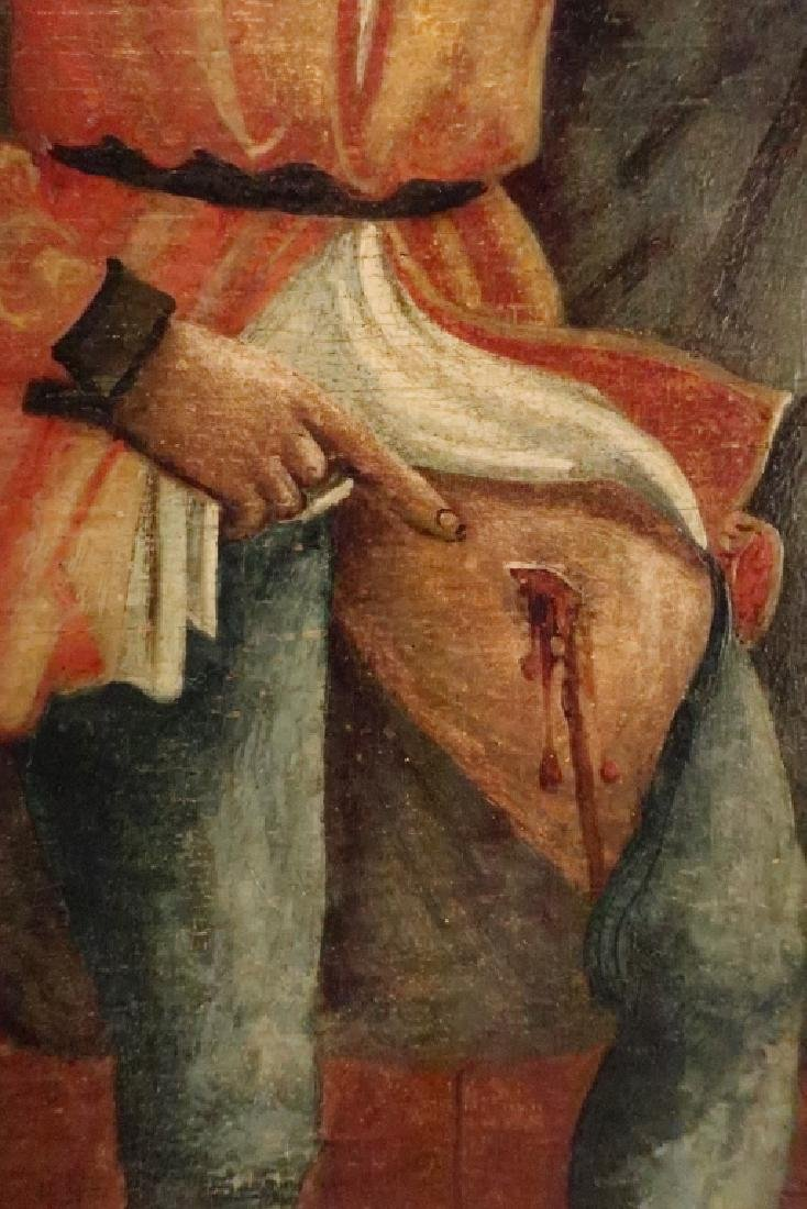 After Bellini, 16th c, Madonna w Child Saints, O/P - 4