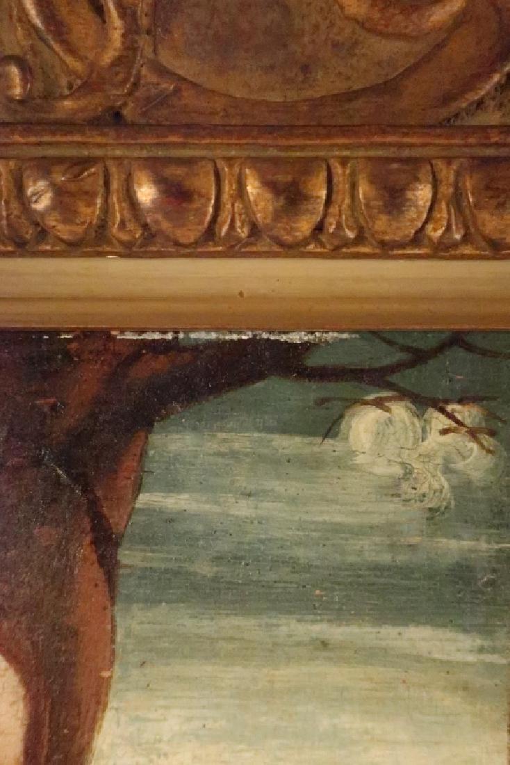 After Bellini, 16th c, Madonna w Child Saints, O/P - 5
