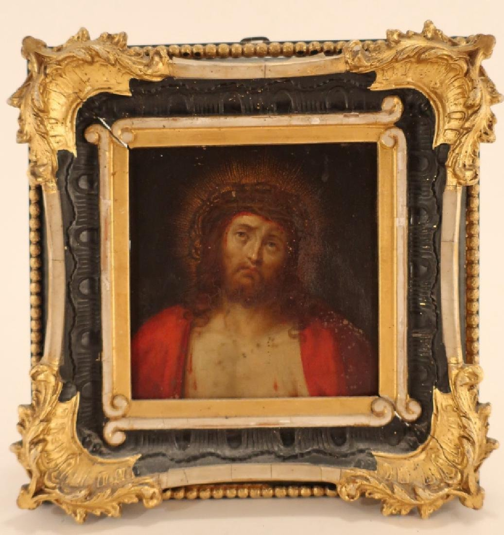 Old Master 16th-17th c, Christ, Oil on Copper - 2