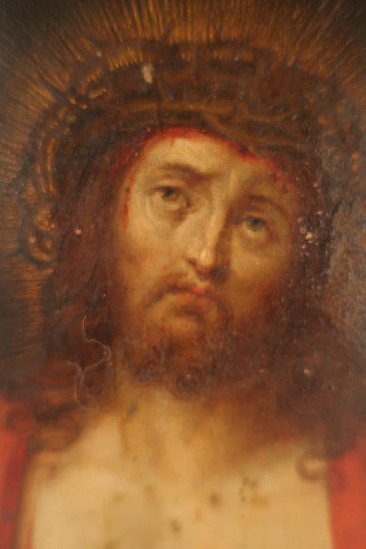 Old Master 16th-17th c, Christ, Oil on Copper - 3