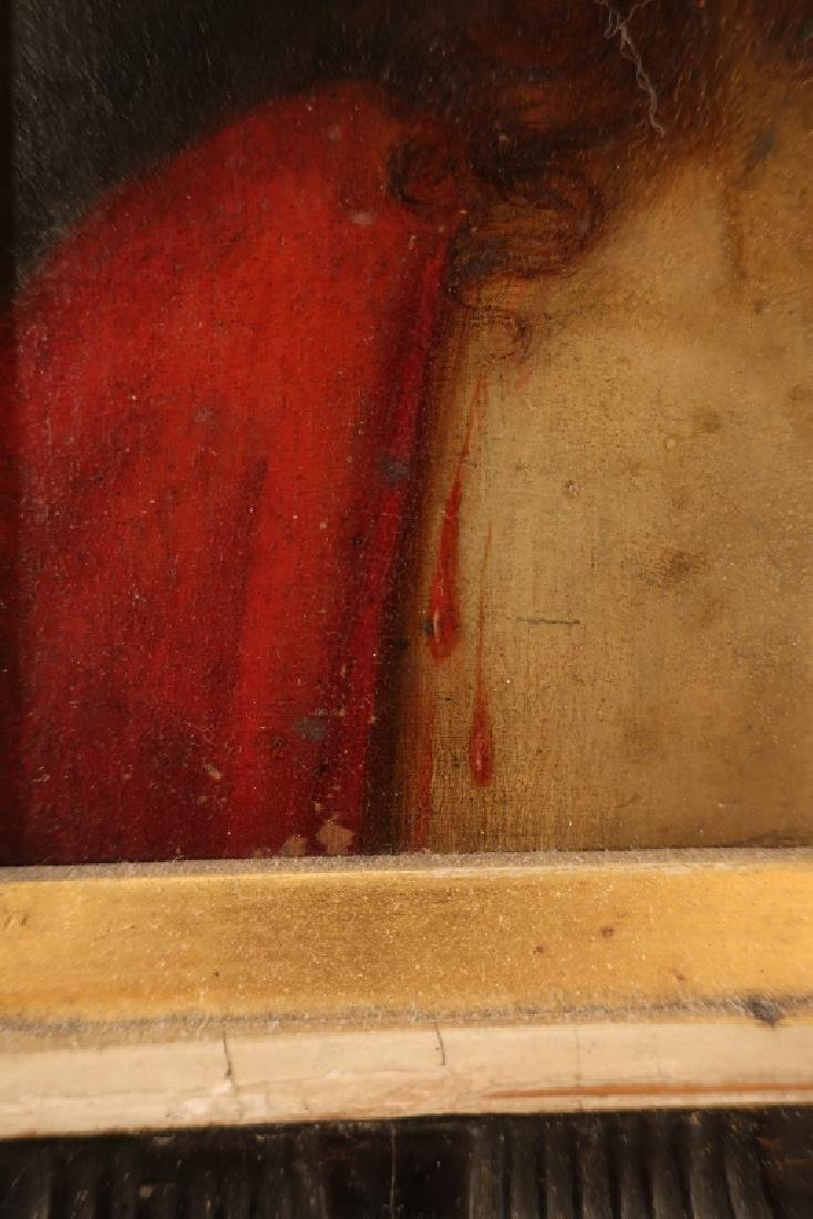 Old Master 16th-17th c, Christ, Oil on Copper - 4