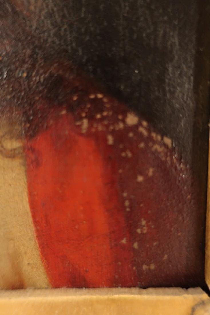Old Master 16th-17th c, Christ, Oil on Copper - 5