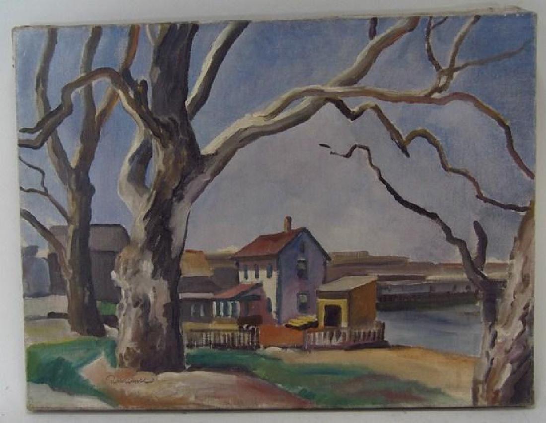 Robert Hallowell, Am., 1886-1939, Two Oils - 3