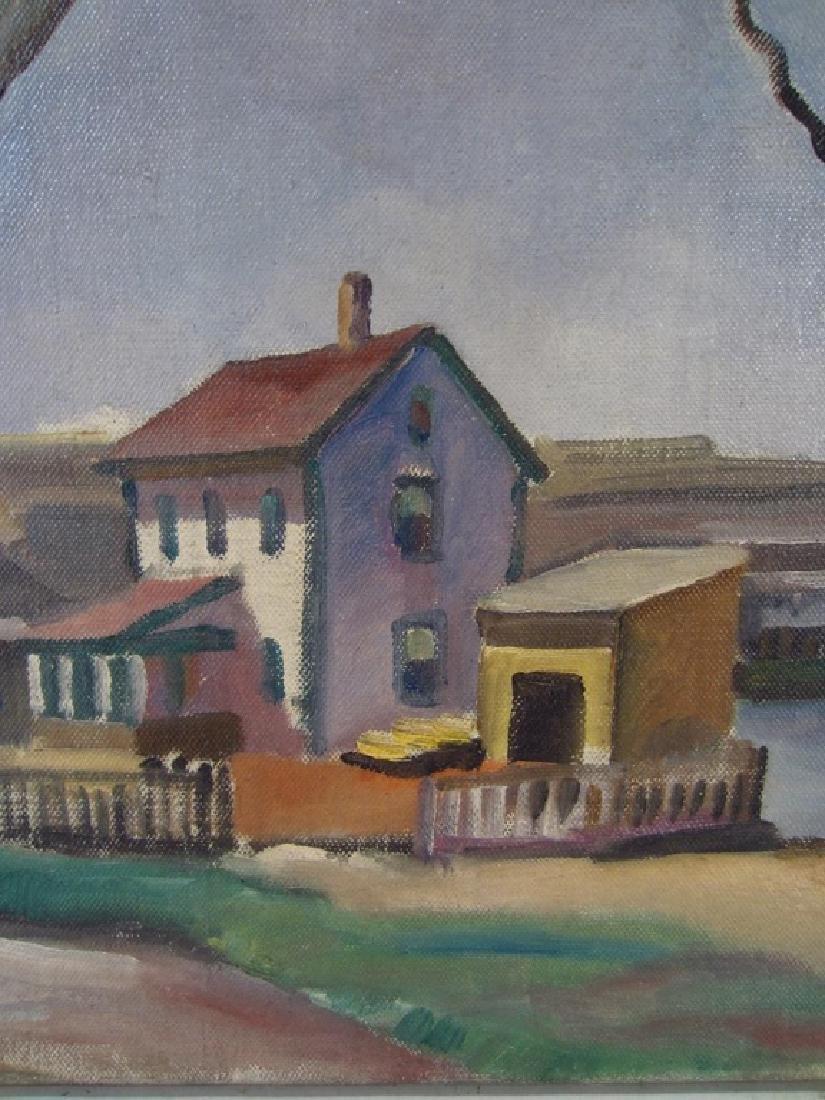 Robert Hallowell, Am., 1886-1939, Two Oils - 4
