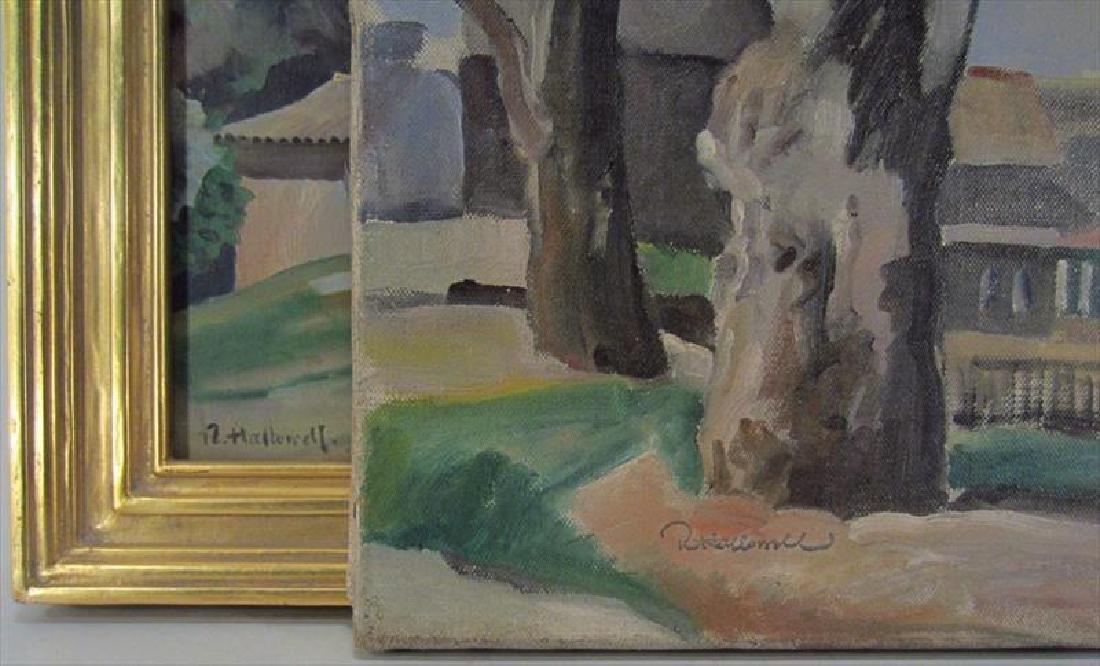 Robert Hallowell, Am., 1886-1939, Two Oils - 6