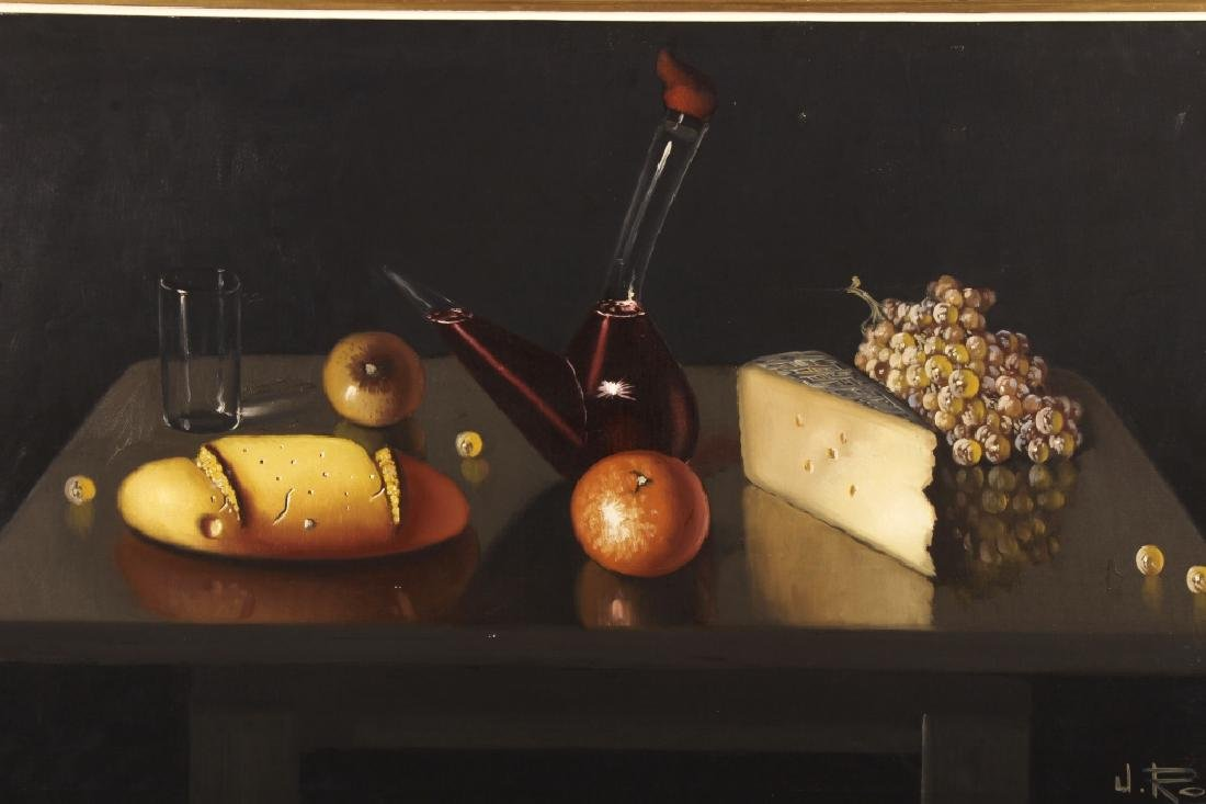 J. Ross, Mid-20th C., Still Life, Oil on Canvas