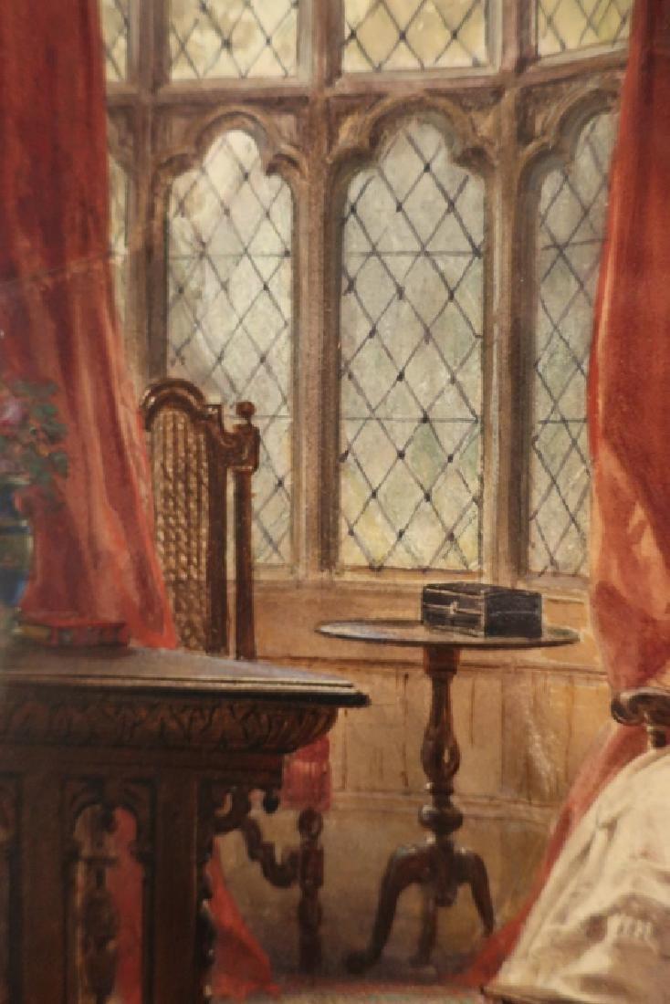 Louis Haghe 1806-1885 Interior Scene W/C 1869 - 4