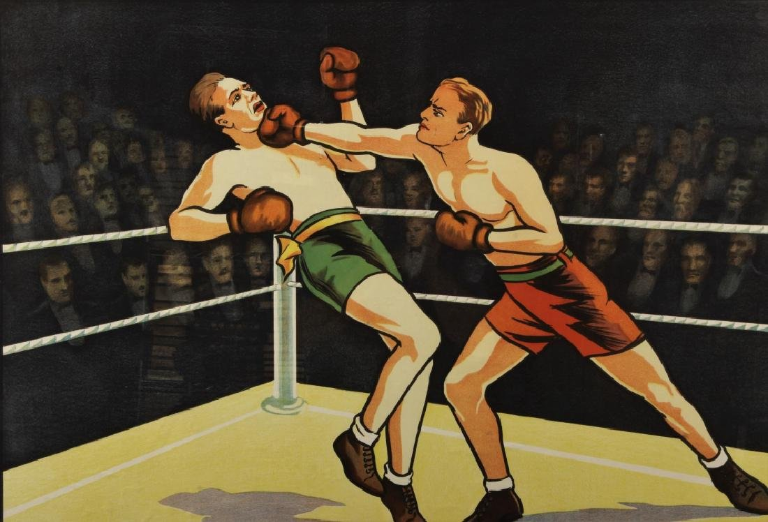 Vintage Willsons' Leicester British Boxing