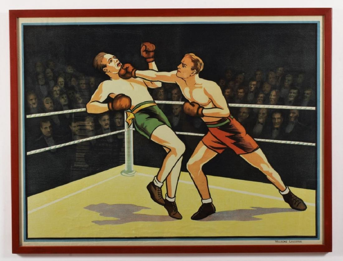 Vintage Willsons' Leicester British Boxing - 2