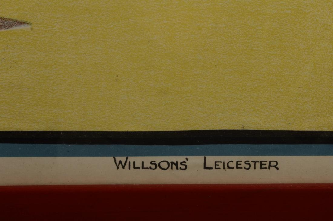 Vintage Willsons' Leicester British Boxing - 6