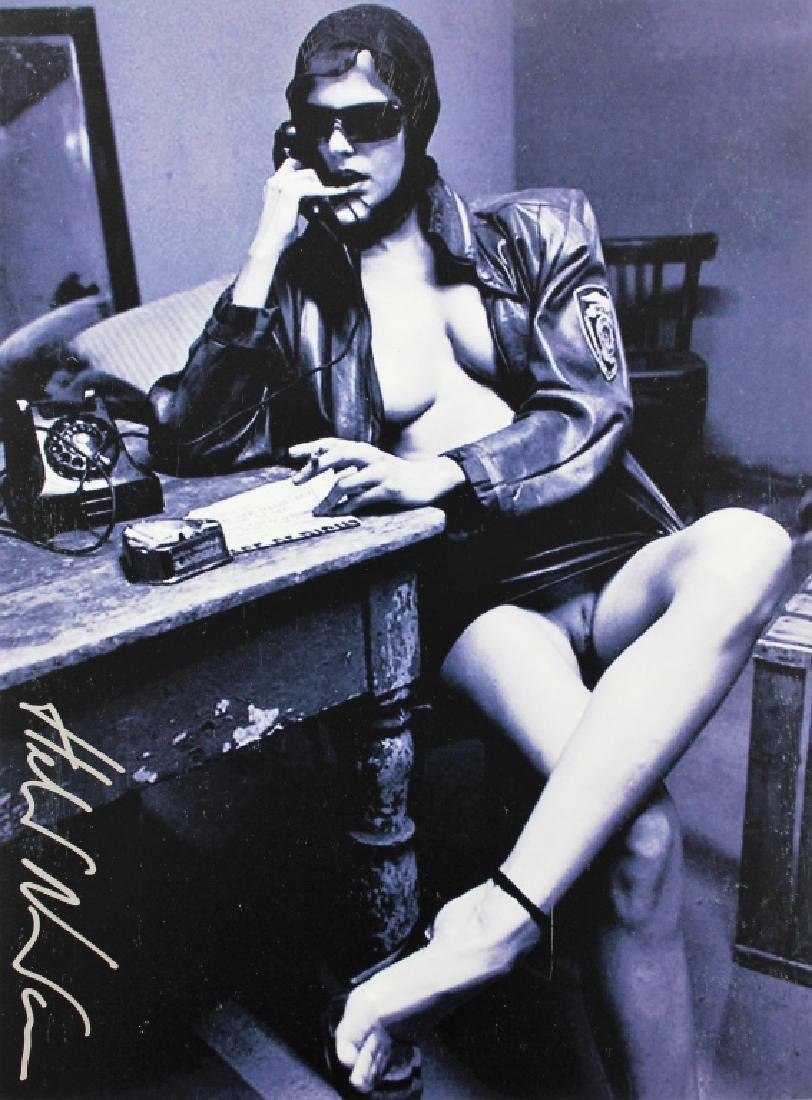 Helmut Newton 1920-2004 Nude Signed Photo