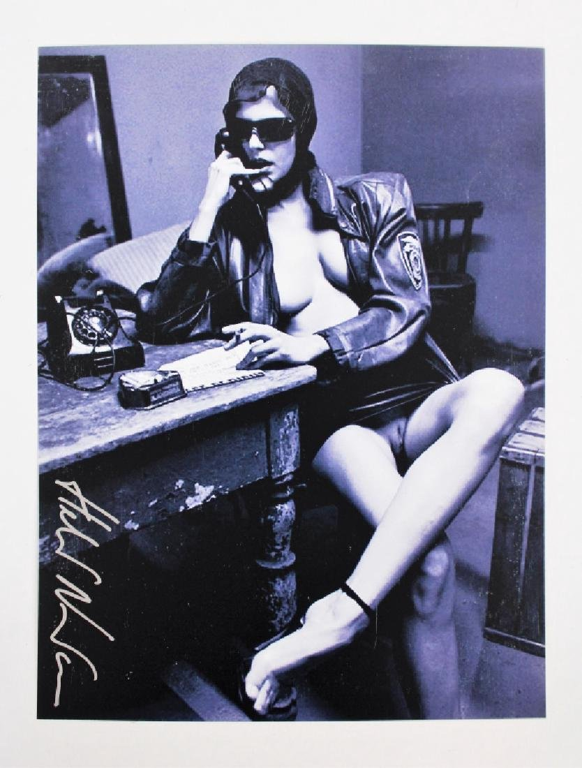 Helmut Newton 1920-2004 Nude Signed Photo - 2