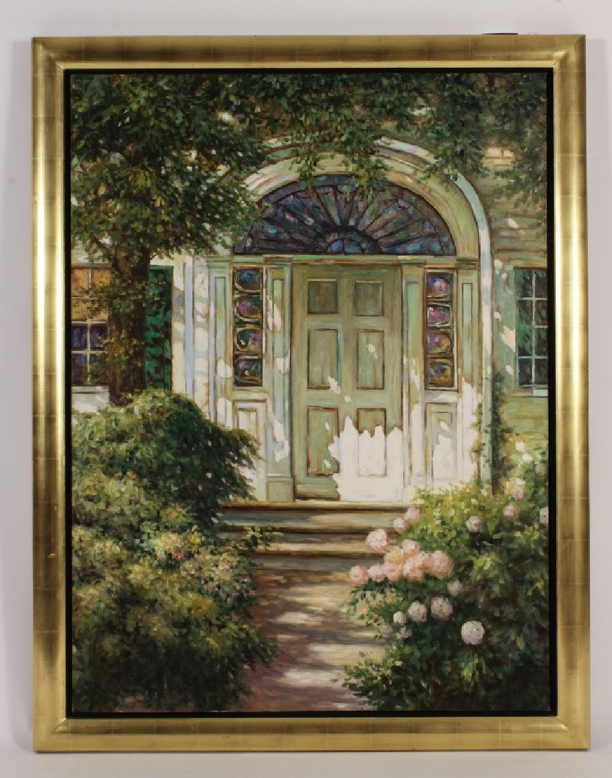 Hing Biu / Henry Peeters Path to White Doorway O/C - 2