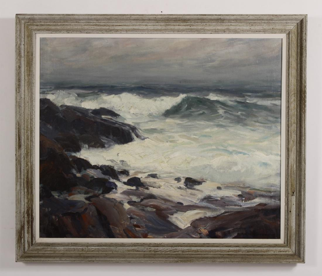 """Emile Gruppe, Am.,  """"After the Storm"""", O/C, Signed - 2"""