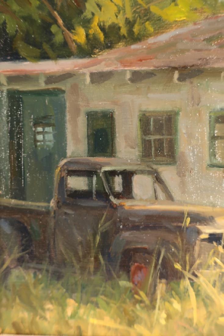 John Pototschnik b.1946 No More Gas O/B - 4