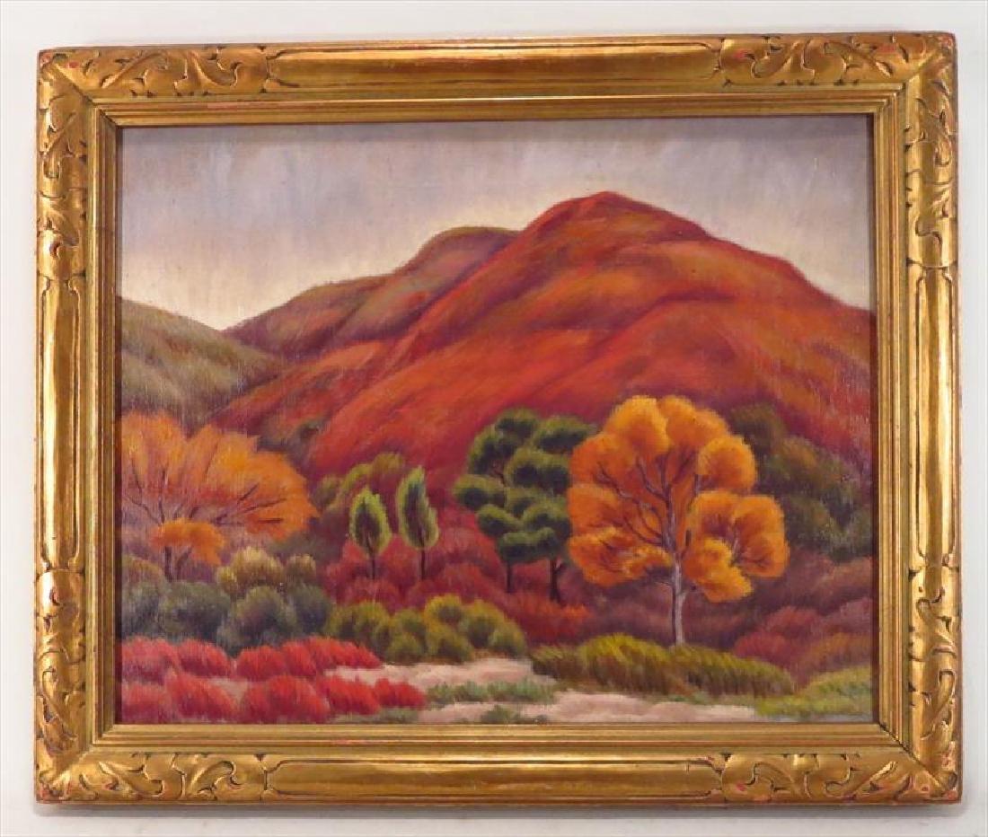Paul Hermann Rohland, 1884-1953, Western Landscape