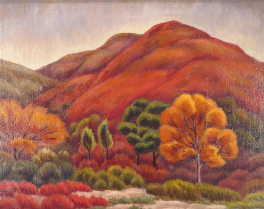 Paul Hermann Rohland, 1884-1953, Western Landscape - 2