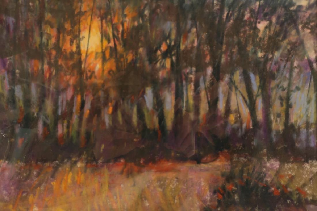 Sandra Rubel, Am., 5 Landscape Pastels