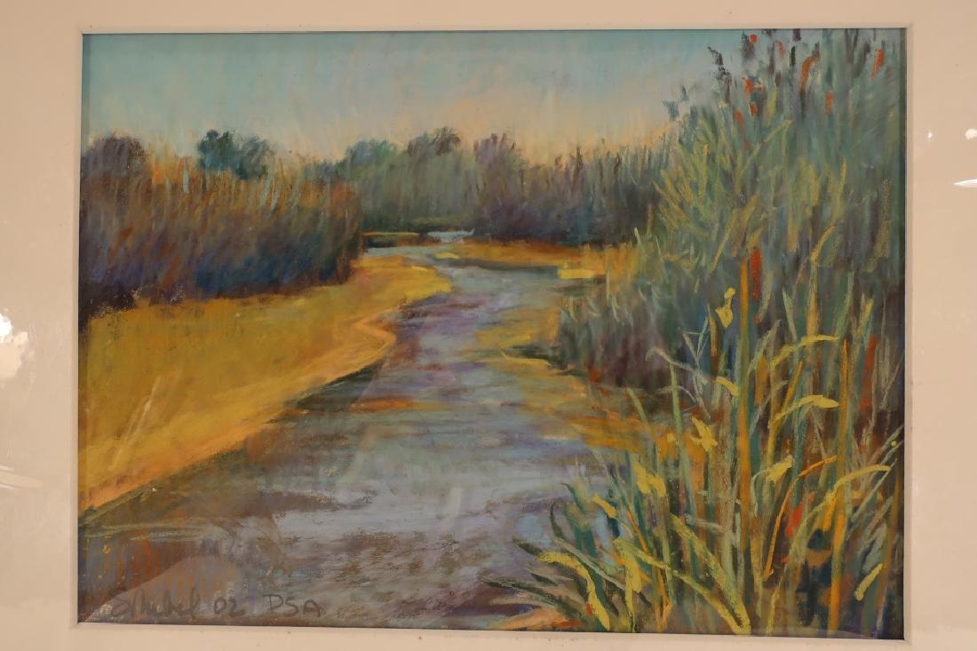 Sandra Rubel, Am., 5 Landscape Pastels - 3