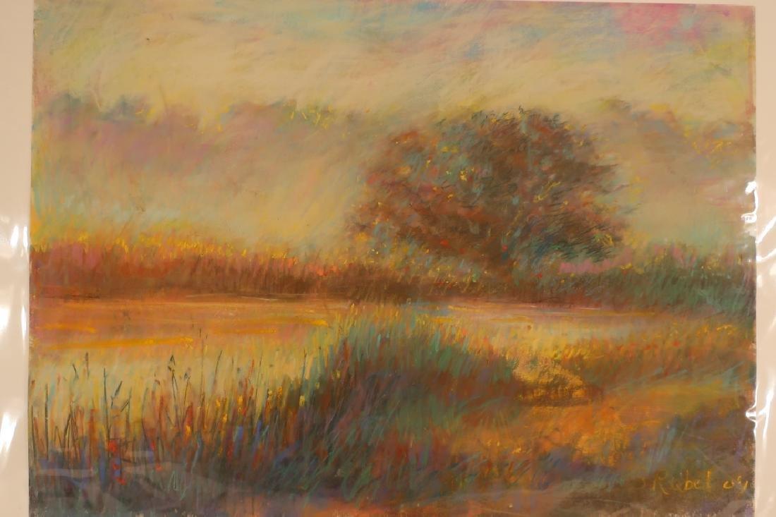 Sandra Rubel, Am., 5 Landscape Pastels - 4