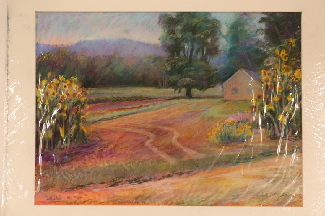 Sandra Rubel, Am., 5 Landscape Pastels - 5