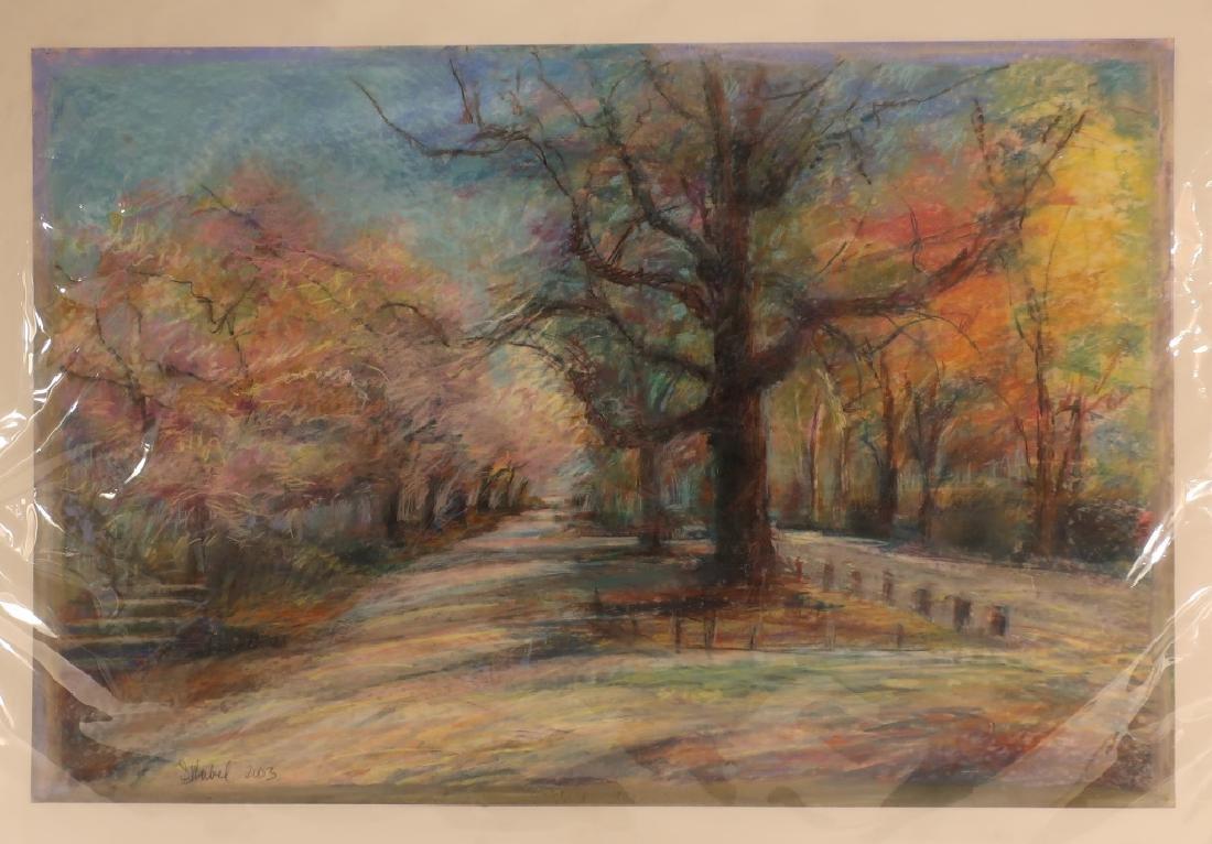 "Sandra Rubel, Am., ""Spring in Central Park"""