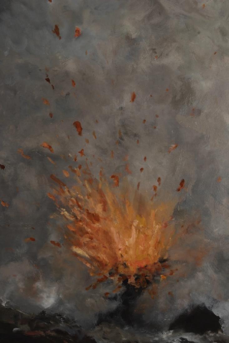 Sukey Bryan Am. b. 1961 Volcano O/C