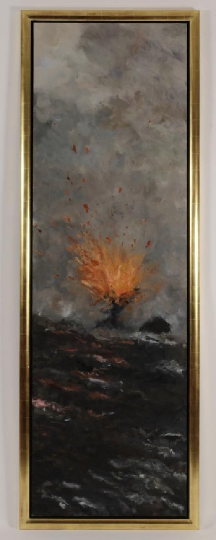 Sukey Bryan Am. b. 1961 Volcano O/C - 2
