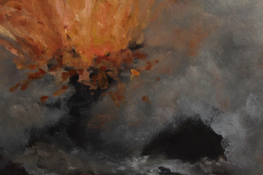 Sukey Bryan Am. b. 1961 Volcano O/C - 3